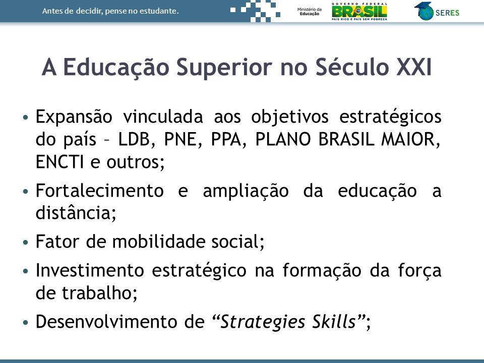 A Educação Superior no Século XXI