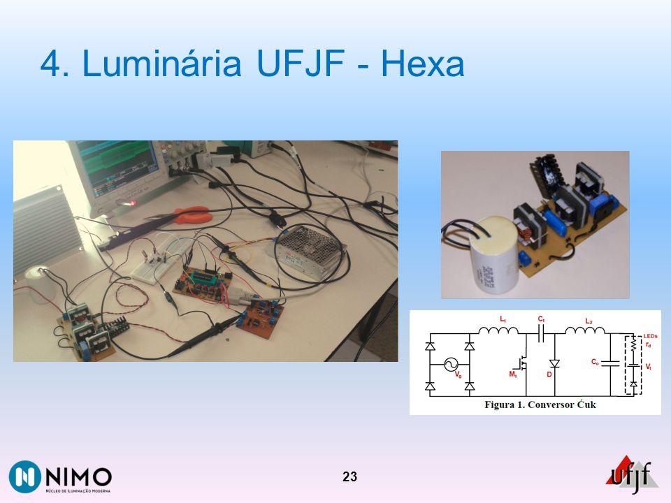 4. Luminária UFJF - Hexa