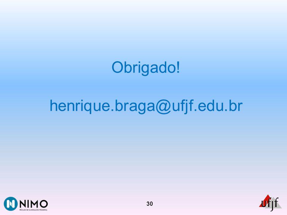 Obrigado! henrique.braga@ufjf.edu.br