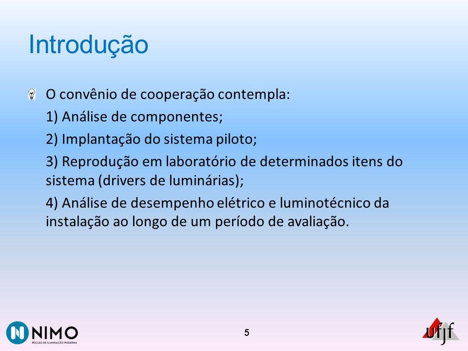 Introdução O convênio de cooperação contempla: