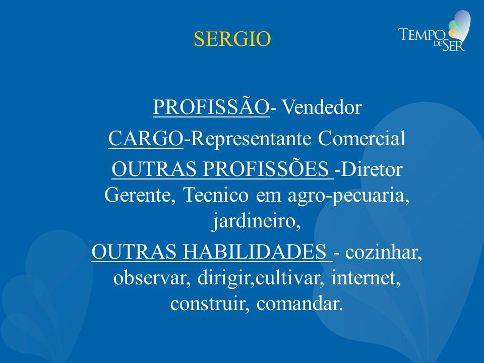 CARGO-Representante Comercial