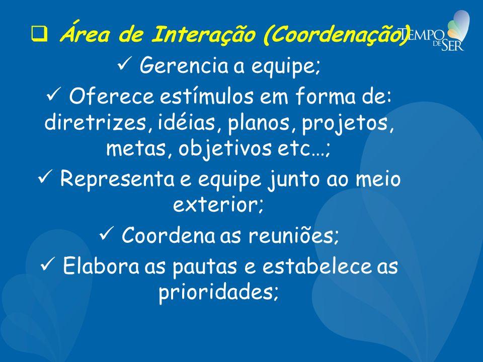 Área de Interação (Coordenação)