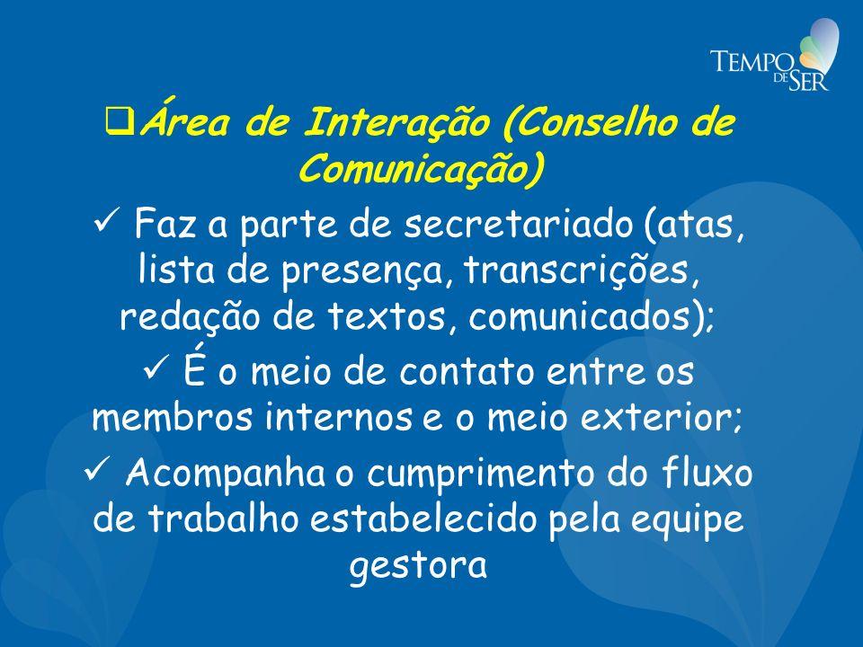 Área de Interação (Conselho de Comunicação)