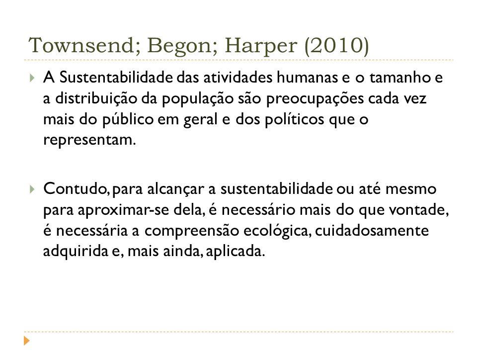Townsend; Begon; Harper (2010)