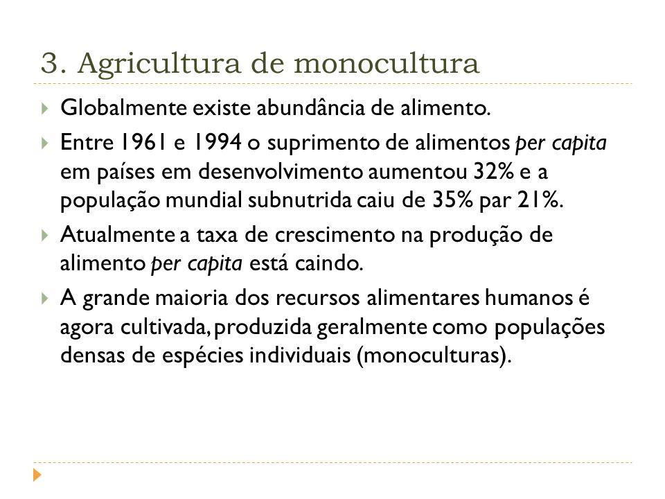 3. Agricultura de monocultura