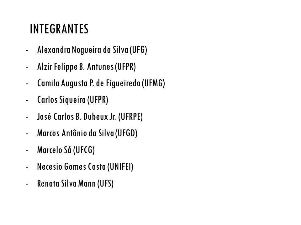 Integrantes Alexandra Nogueira da Silva (UFG)