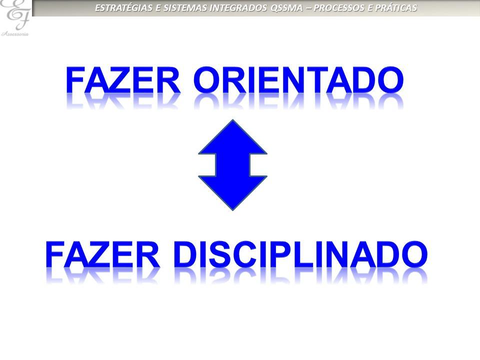 FAZER ORIENTADO FAZER DISCIPLINADO