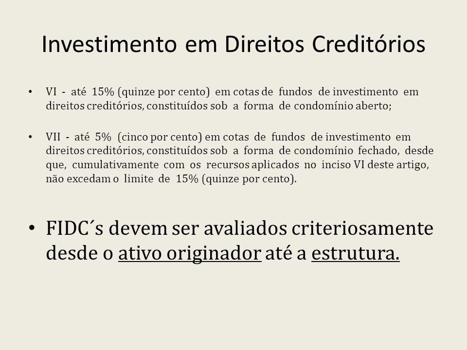Investimento em Direitos Creditórios