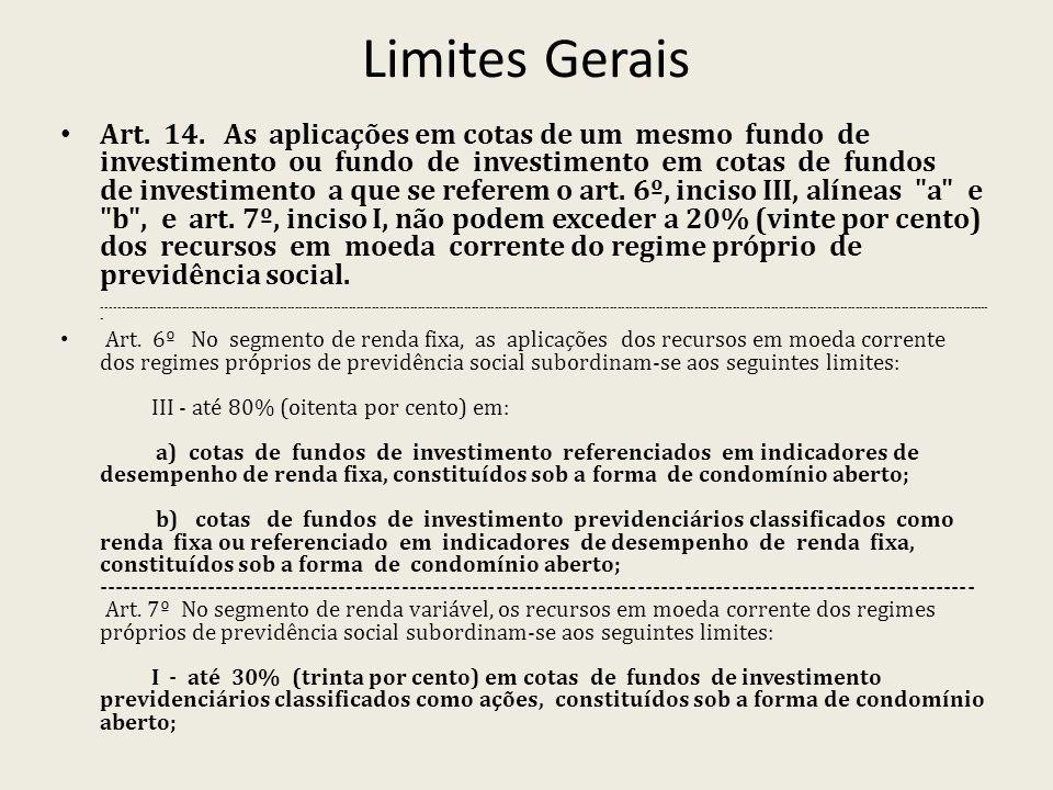 Limites Gerais