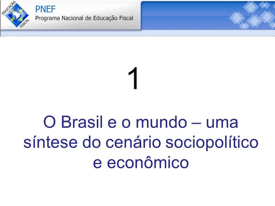 O Brasil e o mundo – uma síntese do cenário sociopolítico e econômico