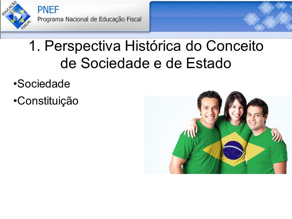 1. Perspectiva Histórica do Conceito de Sociedade e de Estado