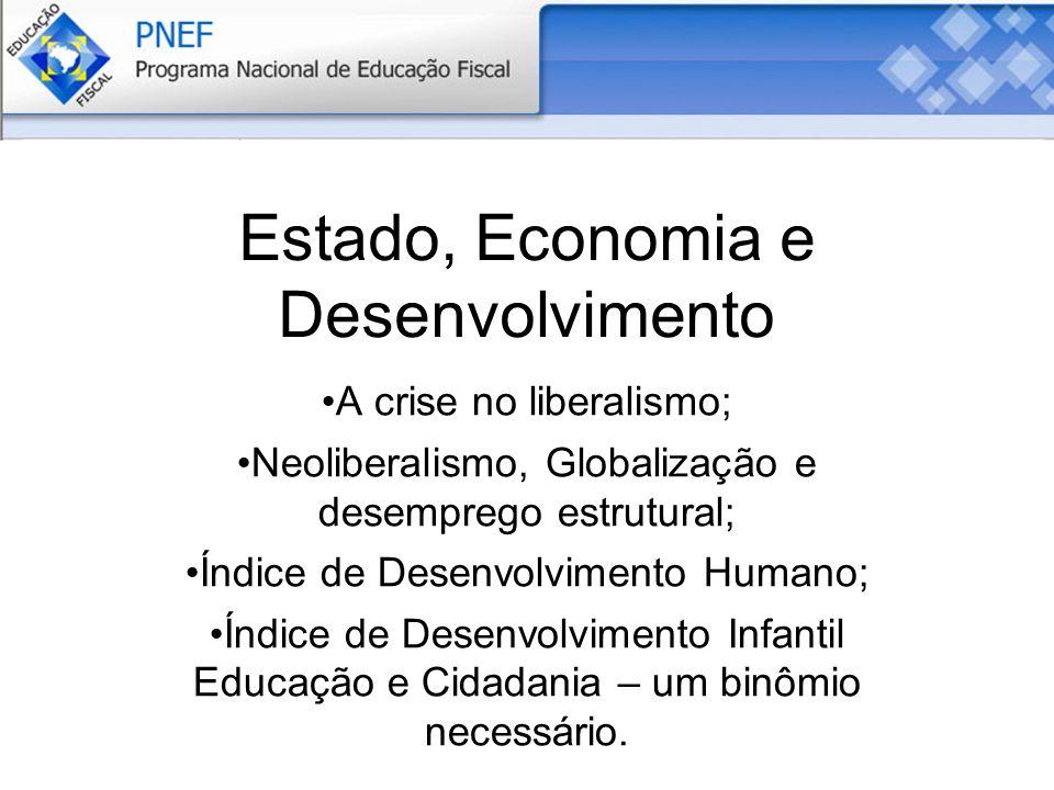 Estado, Economia e Desenvolvimento