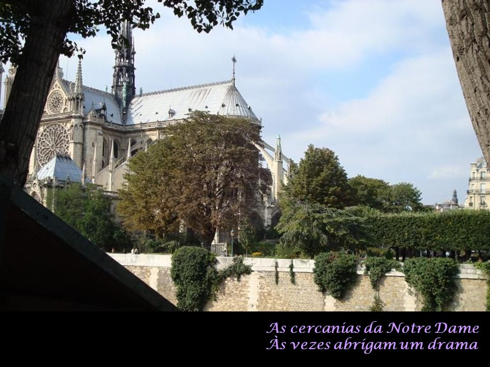 As cercanias da Notre Dame