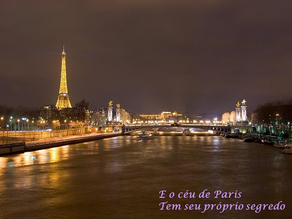 E o céu de Paris Tem seu próprio segredo