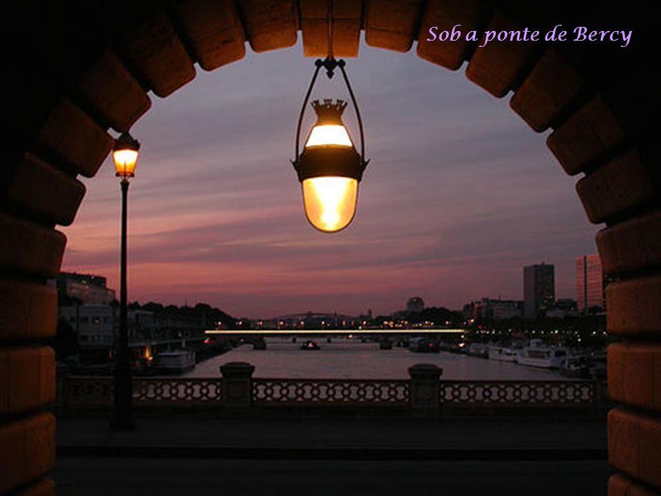Sob a ponte de Bercy