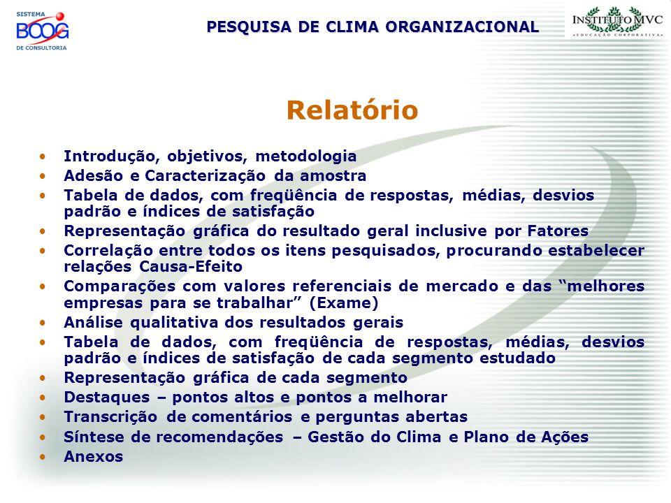 Relatório Introdução, objetivos, metodologia