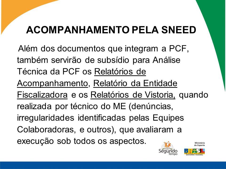 ACOMPANHAMENTO PELA SNEED