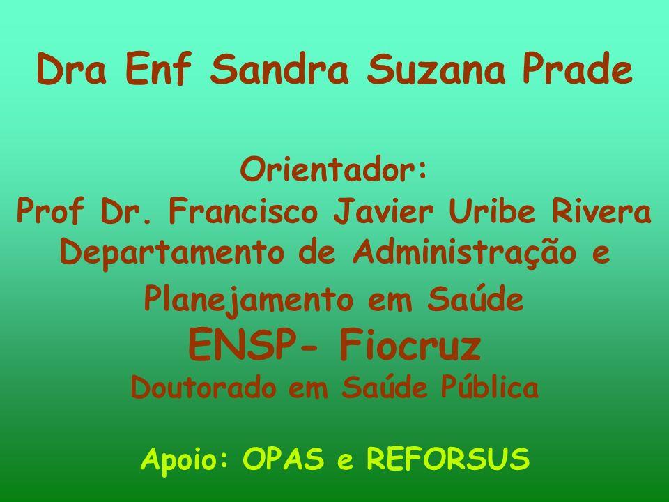 Dra Enf Sandra Suzana Prade ENSP- Fiocruz