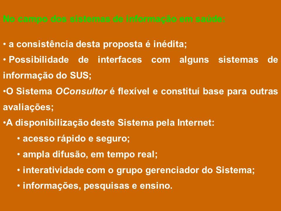 No campo dos sistemas de informação em saúde: