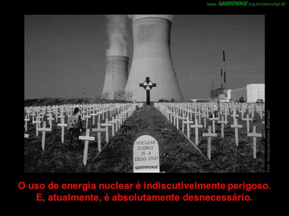 .org.br/chernobyl-20 www. Foto: Greenpeace/Lieve Blanckaert.