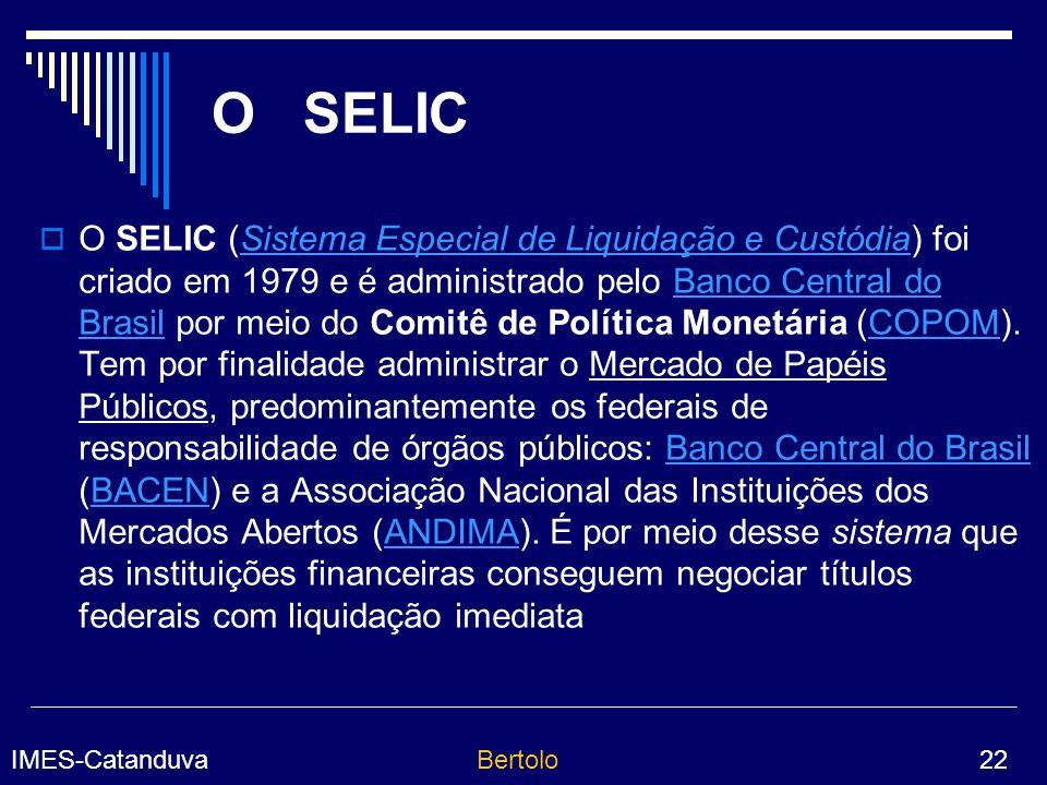 O SELIC