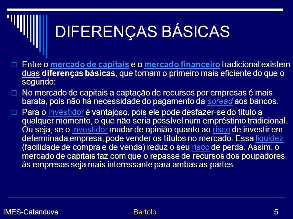 DIFERENÇAS BÁSICAS
