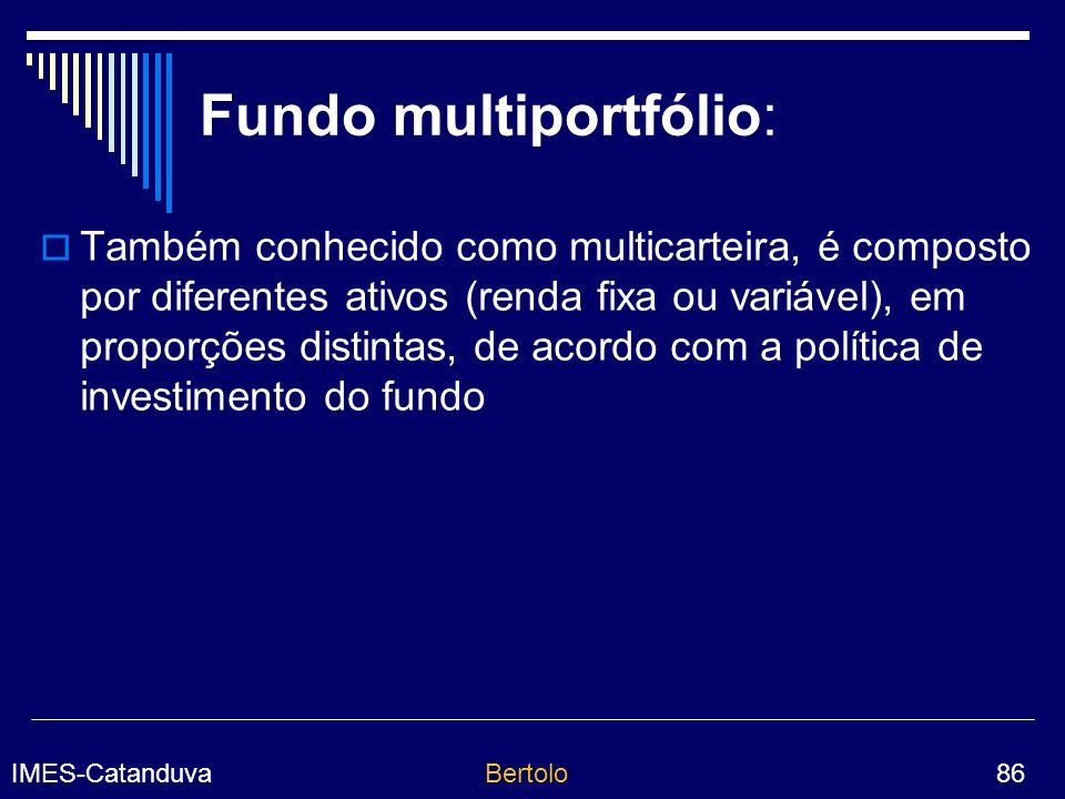 Fundo multiportfólio: