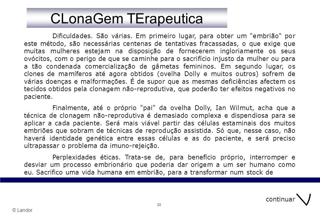 CLonaGem TErapeutica