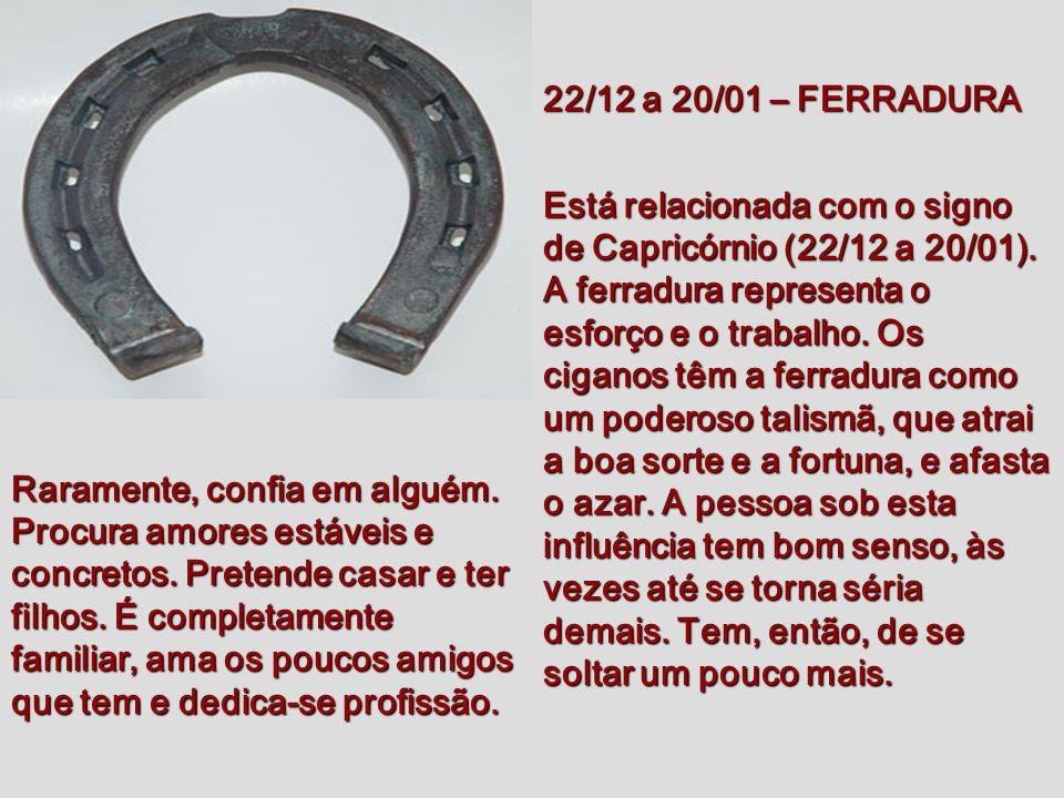 22/12 a 20/01 – FERRADURA