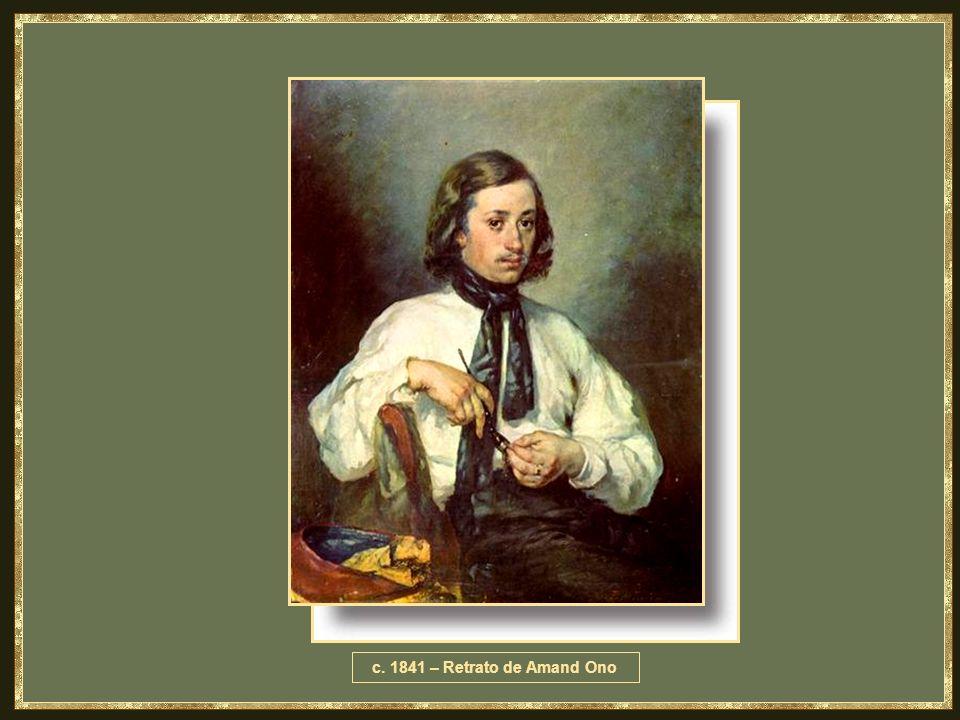 c. 1841 – Retrato de Amand Ono