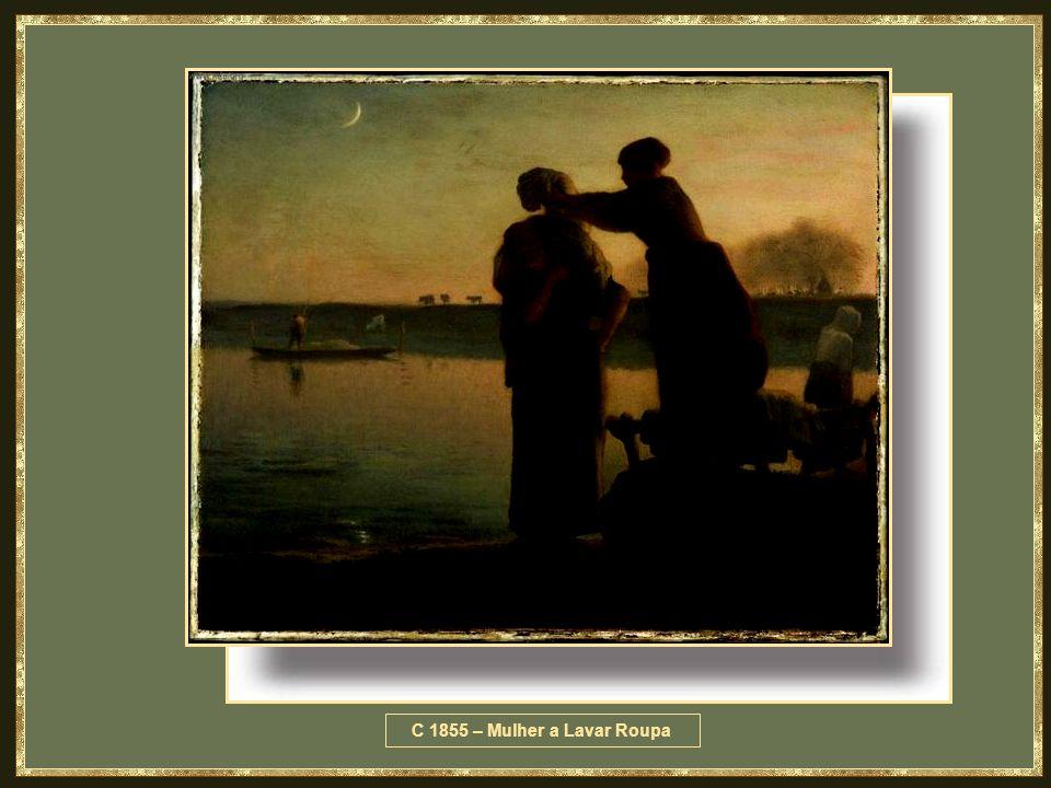 C 1855 – Mulher a Lavar Roupa