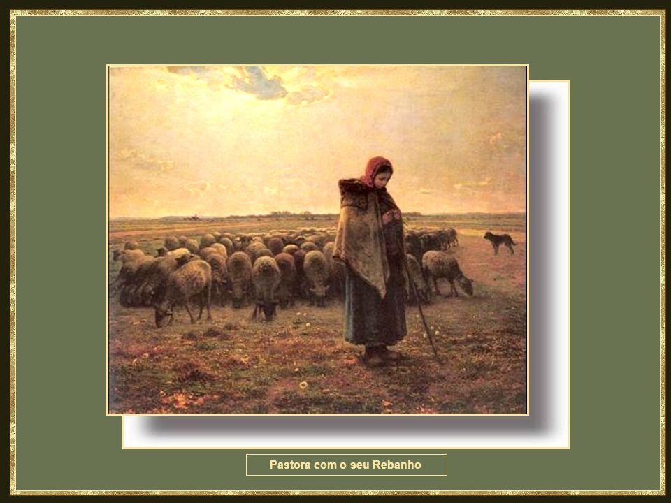 Pastora com o seu Rebanho