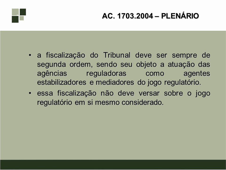 AC. 1703.2004 – PLENÁRIO