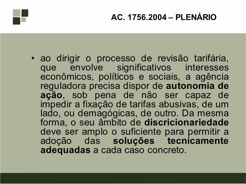 AC. 1756.2004 – PLENÁRIO