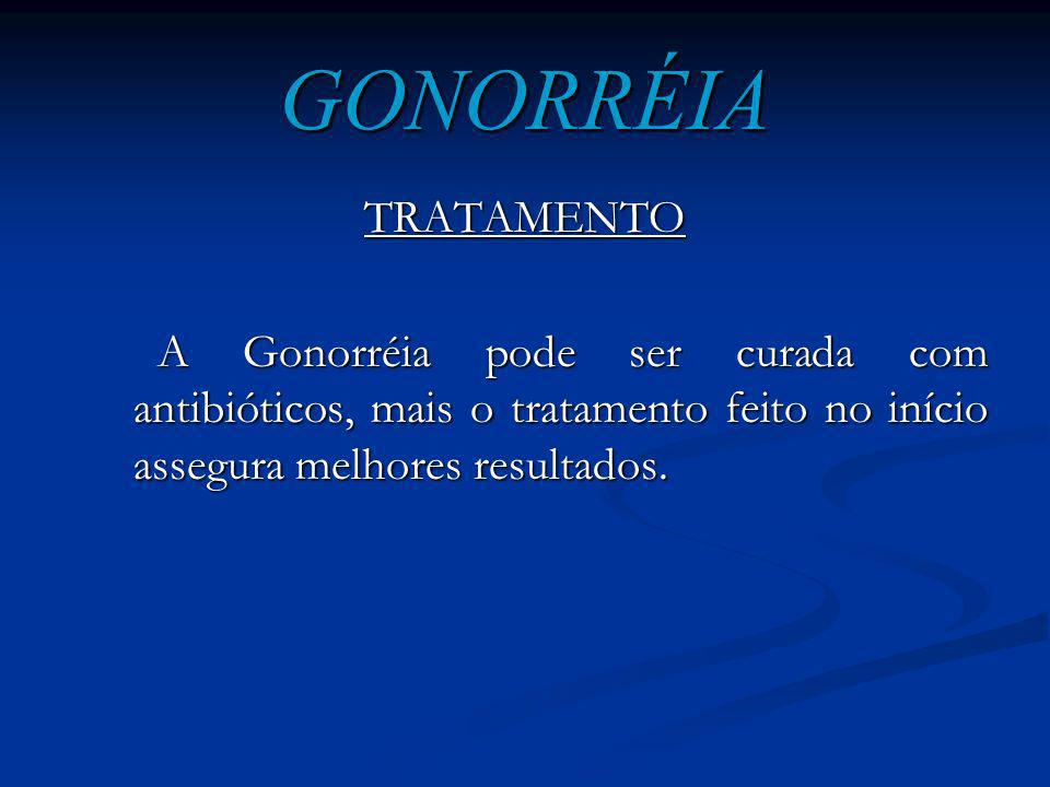 GONORRÉIA TRATAMENTO.