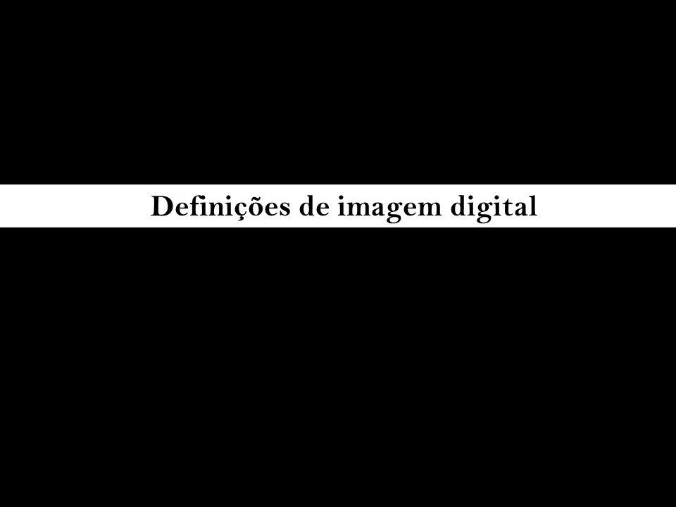 Definições de imagem digital