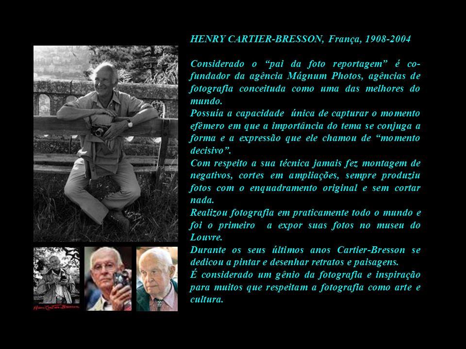 HENRY CARTIER-BRESSON, França, 1908-2004