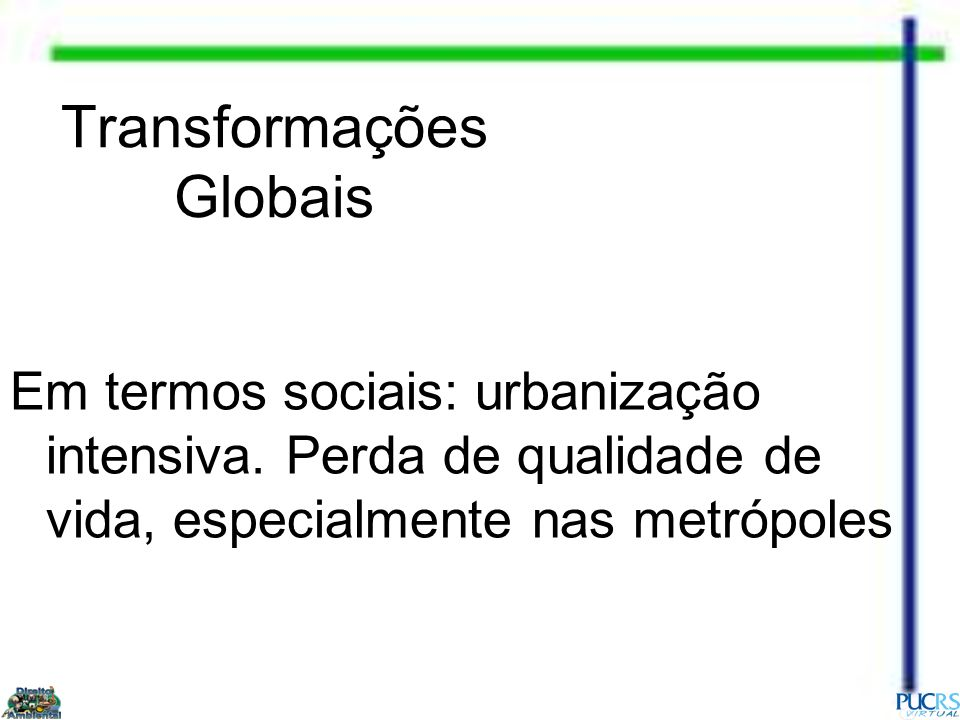 Transformações Globais