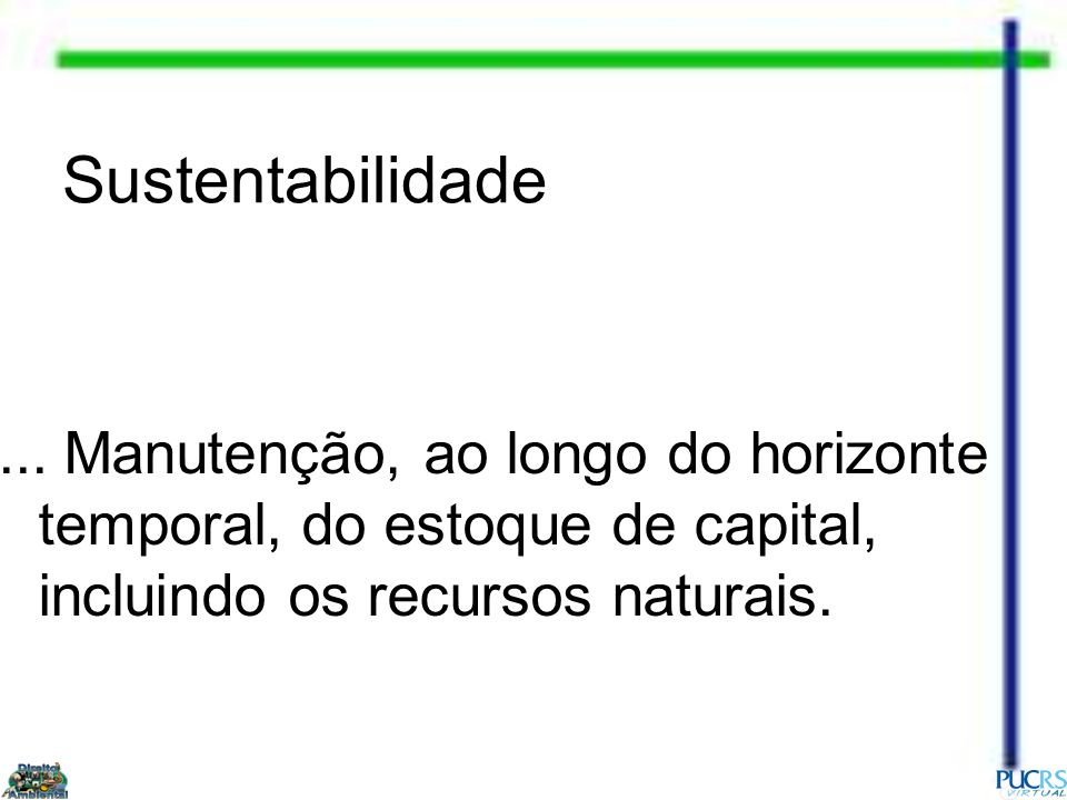Sustentabilidade ...