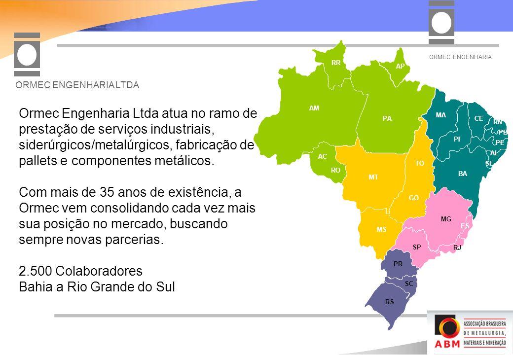 Bahia a Rio Grande do Sul