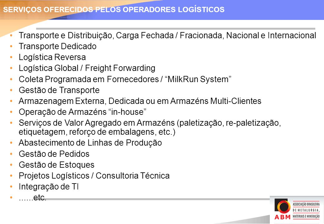 Logística Global / Freight Forwarding