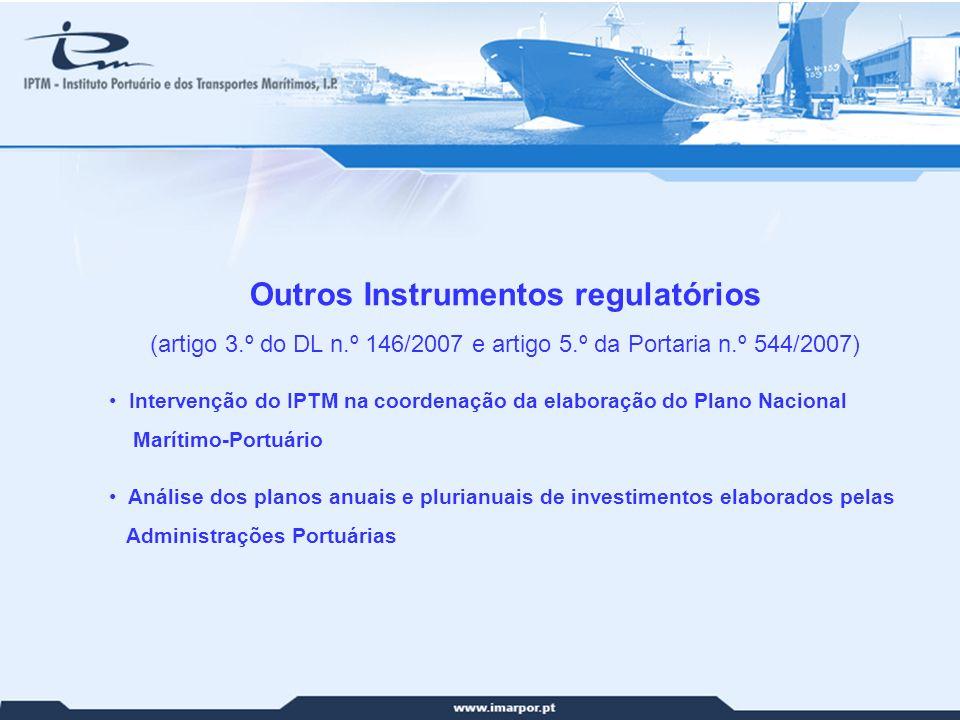 Outros Instrumentos regulatórios Outros Instrumentos regulatórios