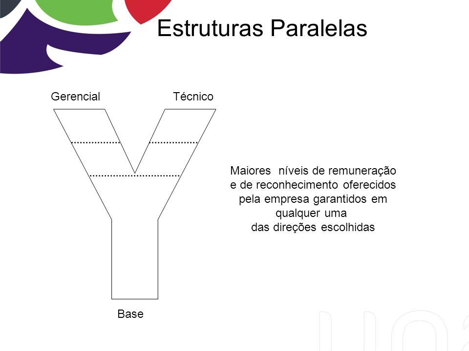 Estruturas Paralelas Y Gerencial Técnico Maiores níveis de remuneração