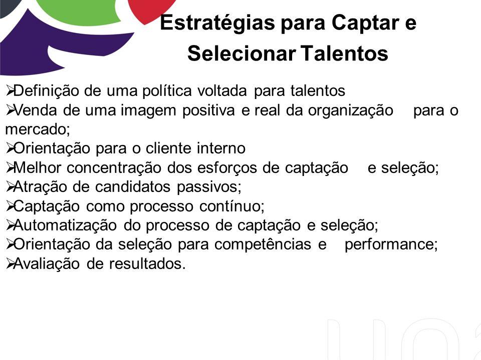 Estratégias para Captar e Selecionar Talentos