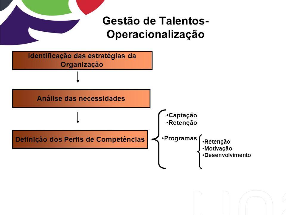 Gestão de Talentos- Operacionalização