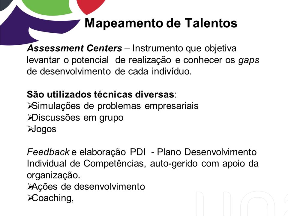 Mapeamento de Talentos