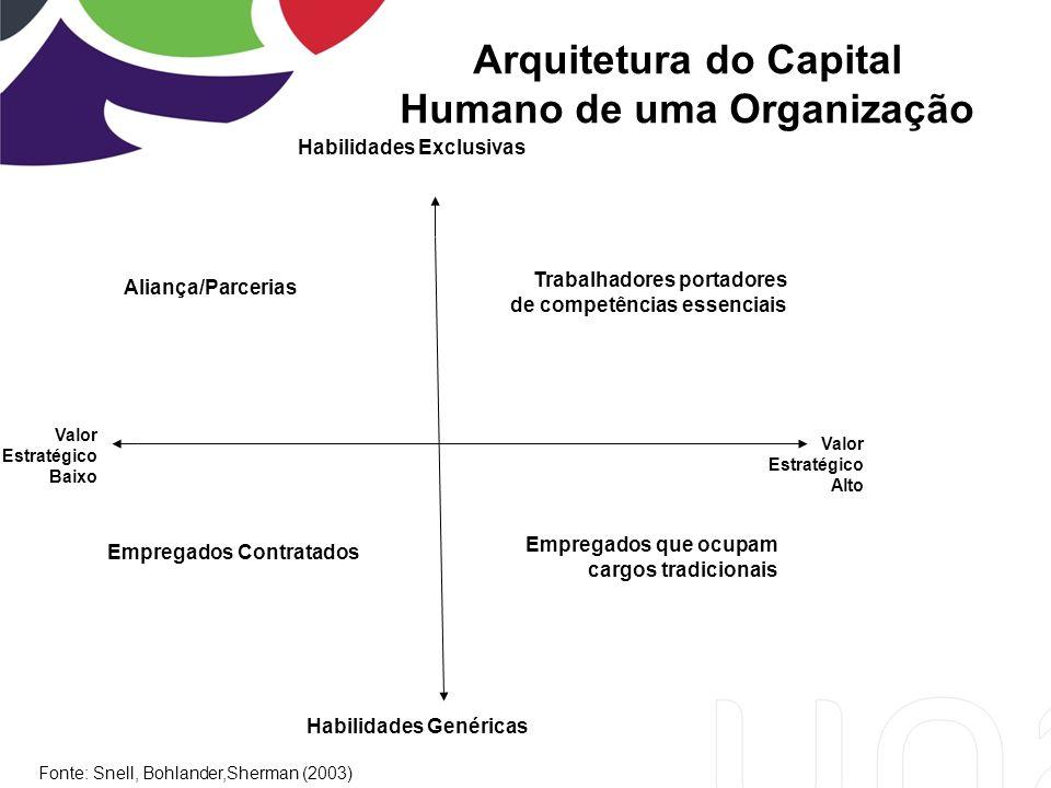 Arquitetura do Capital Humano de uma Organização