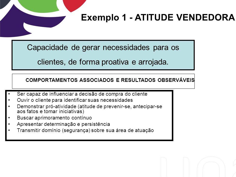 COMPORTAMENTOS ASSOCIADOS E RESULTADOS OBSERVÁVEIS