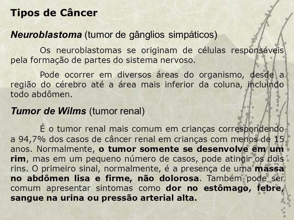 Neuroblastoma (tumor de gânglios simpáticos)