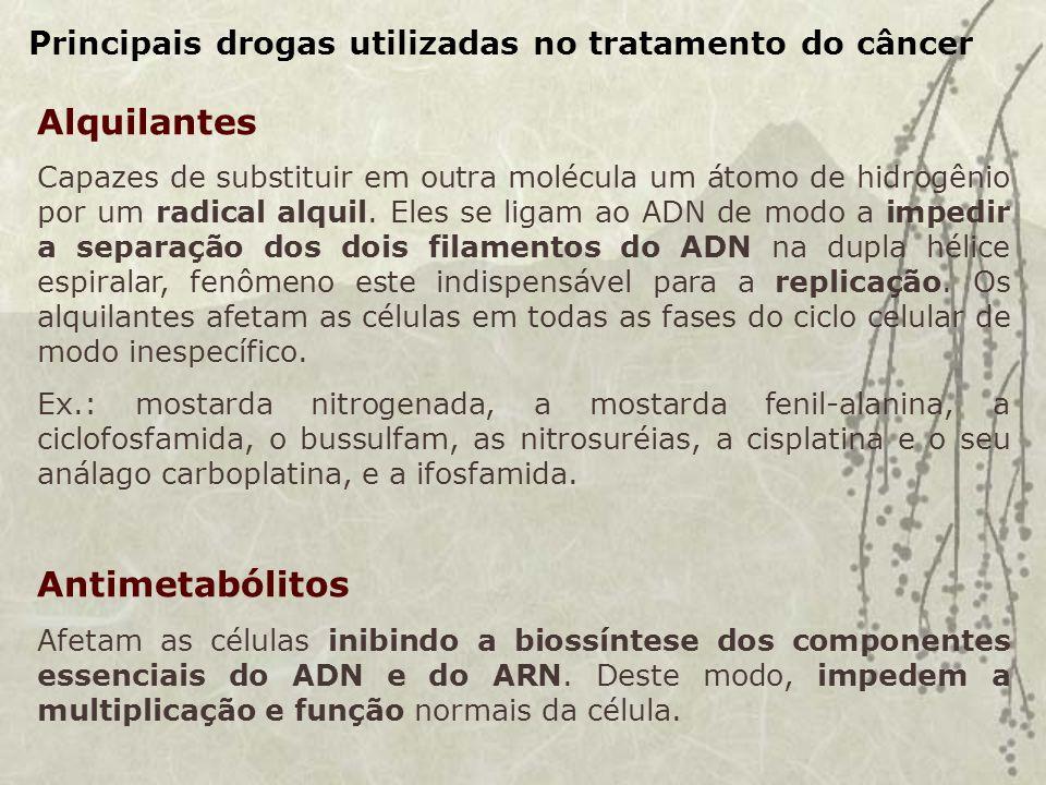 Alquilantes Antimetabólitos